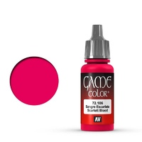 Vallejo 72106 Game Colour Scarlett Blood 17 ml Acrylic Paint