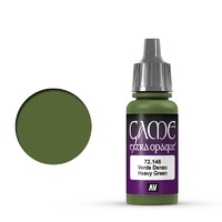 Vallejo Game Colour Extra Opaque Heavy Green 17 ml Acrylic Paint