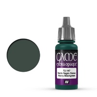 Vallejo Game Colour Extra Opaque Heavy Blackgreen 17 ml Acrylic Paint