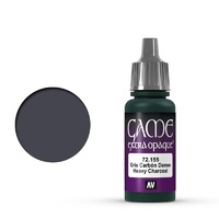 Vallejo Game Colour Extra Opaque Heavy Charcoal 17 ml Acrylic Paint