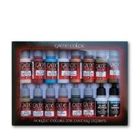 Vallejo Game Colour Specialist 16 Colour Set Acrylic Paint