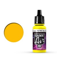 Vallejo Game Air Moon Yellow 17 ml Acrylic Airbrush Paint