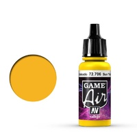Vallejo Game Air Sunblast Yellow 17 ml Acrylic Airbrush Paint