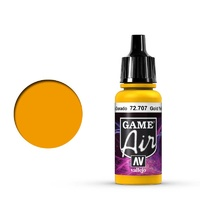 Vallejo 72707 Game Air Gold Yellow 17 ml Acrylic Airbrush Paint