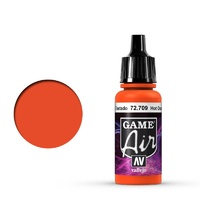 Vallejo Game Air Hot Orange 17 ml Acrylic Airbrush Paint