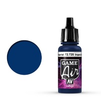 Vallejo 72720 Game Air Imperial Blue 17 ml Acrylic Airbrush Paint