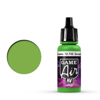 Vallejo 72732 Game Air Scorpy Green 17 ml Acrylic Airbrush Paint