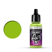 Vallejo Game Air Livery Green 17 ml Acrylic Airbrush Paint
