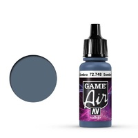 Vallejo Game Air Sombre Grey 17 ml Acrylic Airbrush Paint