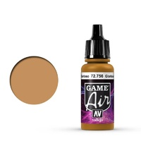 Vallejo Game Air Glorious Gold 17 ml Acrylic Airbrush Paint