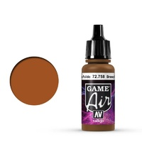 Vallejo Game Air Brassy Brass 17 ml Acrylic Airbrush Paint