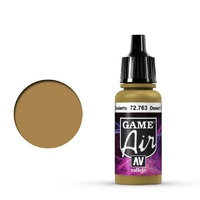 Vallejo Game Air Desert Yellow 17 ml Acrylic Airbrush Paint