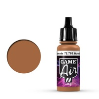 Vallejo Game Air Burned Flesh 17 ml Acrylic Airbrush Paint