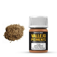 Vallejo Pigments Natural Sienna 30 ml