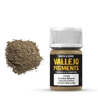 Vallejo 73109 Pigments Natural Umber 30 ml