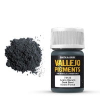 Vallejo Pigments Dark Steel 30 ml