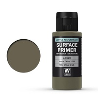 Vallejo 73608 Surface Primer US Olive Drab 60 ml