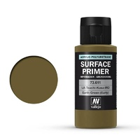 Vallejo Surface Primer 60mL Earth Green (Early) 73611