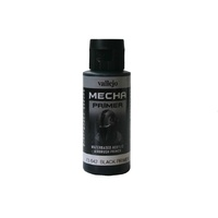 Vallejo 73642 Mecha Colour Black Primer 60ml