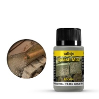 Vallejo Weathering Effects Industrial Splash Mud 40 ml