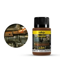 Vallejo Weathering Effects Brown Engine Soot 40 ml