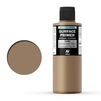 Vallejo Surface Primer 200mL German Dark Yellow 74604