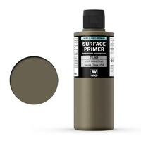 Vallejo Surface Primer Color US Olive Drab 200 ml
