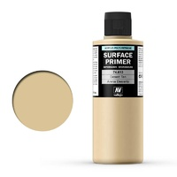 Vallejo Surface Primer Color Desert Tan Base 200 ml