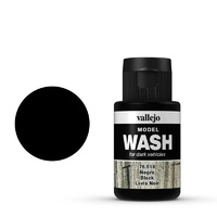Vallejo 76518 Model Wash Black 35 ml Acrylic Paint