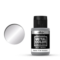 Vallejo Metal Color Aluminium 32ml Acrylic Paint