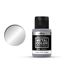Vallejo 77707 Metal Color Chrome 32 ml Acrylic Paint