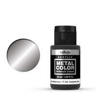 Vallejo 77721 Metal Color Burnt Iron 32ml Acrylic Paint