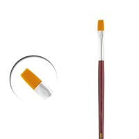 Vallejo PM05010 Flat Rectangular Brush No.10 Toray Paint Brush
