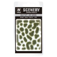 Vallejo SC401 2mm Wild Tuft - Dry Green Diorama Accessory