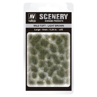 Vallejo SC418 6mm Wild Tuft - Light Brown Diorama Accessory