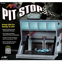 AFX Pit Stop Holographic Image