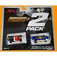 AFX F1 Mega-G+ Twin Pack Slot Cars