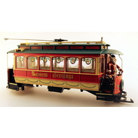 Bachmann G Christmas Carriage with Santa -motorised