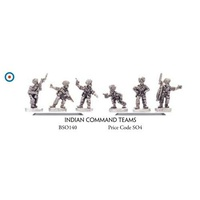 Flames of War 1/100 Indian Command Teams BSO140