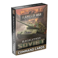 Flames of War Bagration: Soviet Command Cards (42x Cards)