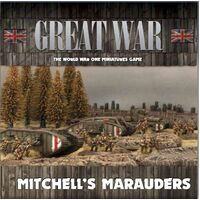 Flames of War 1/100 Mitchell's Marauders (British Army Deal) GBRAB02