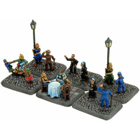 Flames of War 1/100 Villagers (Flames Of War) XSO105