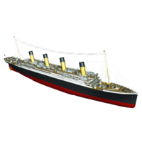 Billings 1/144 RMS Titanic Ship Wooden Model Ship