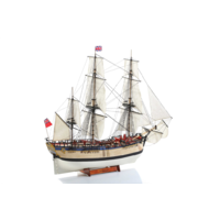 Billings 1/50 HMS Endeavour Wooden Model Ship