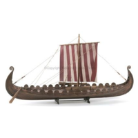 Billings 1/25 Viking Ship Osber Wooden Model Ship