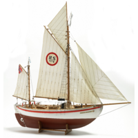 Billings 1/15 Colin Archer Salvage Wooden Model Ship