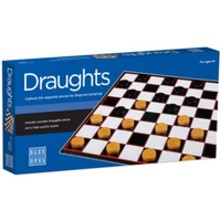 Blue Opal Draughts Game BL01801
