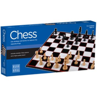 Blue Opal Chess Game BL01802