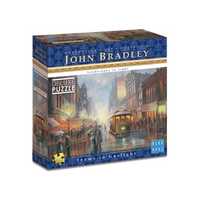 Blue Opal 1000pc Bradley Tams in Gaslight Puzzle