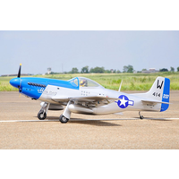 Black Horse Giant Scale ARFO P51 Mustang 30cc Gas 2.05mW